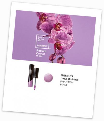 laque brillance shiseido,radiant orchid,blog beauté