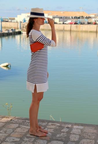 armor lux,breton stripes,breton,blog mode,breton dress