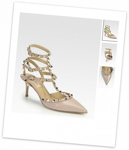 blog mode,valentino,patent leather rockstud slingback pumps,valentino patent leather rockstud slingback pumps