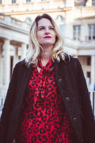 imprimé léopard,blog mode,paris,rinascimento