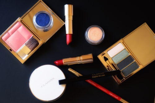 blog beauté,clarins,graphie clarins,collection maquillage graphik clarins,fanny maurer,fanny maurer clarins