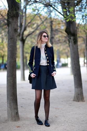 veste militaire,military jacket,blog mode,on parle de vous,karine arabian