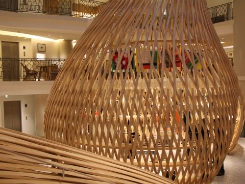 le plongeoir chez hermès,hermès,goûter de luxe à paris,où goûter à paris,paris,piscine lutétia,lutétia