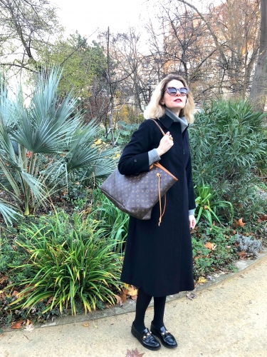 blog mode,manteau vintage burberry's,max & moi