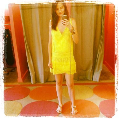 gat rimon, ba&sh, brand bazar, soldes, blog mode, shopping, robe ambre gat rimon, robe delphine ba&sh, deauville, le temps des cerises