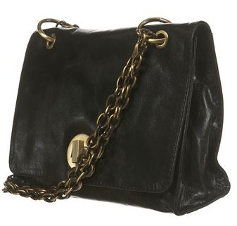 Topshop leather chain handle bag.jpg