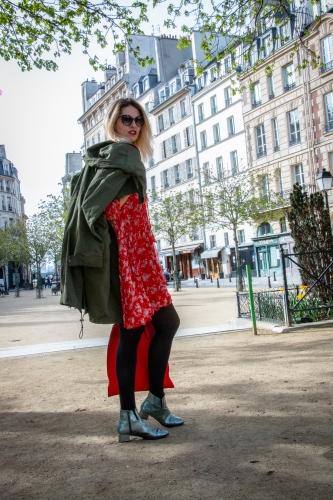 blog mode,karine arabian,tod's,comptoir des cotonniers,parka militaire comptoir des cotonniers,the kooples