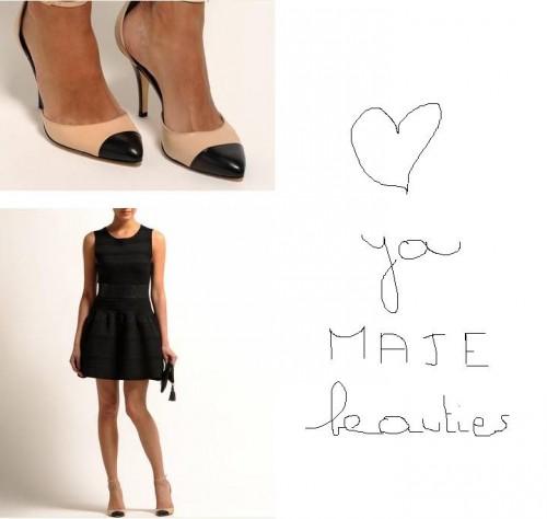 maje, sandales bicolores, native sandales blush, native sandales blush maje, shopping, paris, bon plan mode