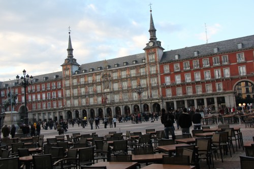 madrid, plaza mayor madrid, voyages, missfashion voyage, churros y chocolate, the penthouse madrid, week end à madrid, stockholm, week end à stockholm
