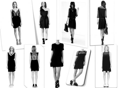 comment s'habiller pour les fêtes,robe noire,petite robe noire parfaite