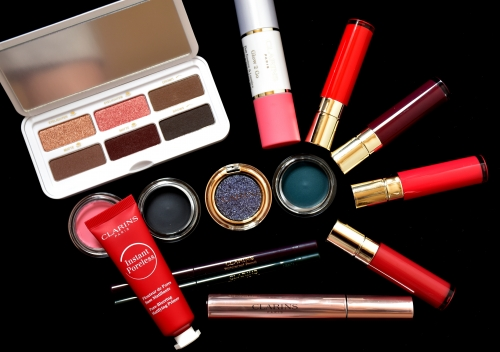 blog beauté,clarins,maquillage clarins,clarins printemps 2019,joli rouge lacquer clarins,wonder perfect mascara 4d clarins,ombres yeux clarins,instant poreless clarins,glow 2 go clarins,ready in a flash clarins