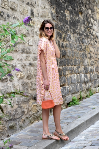 manoush,blog mode,caftan lame plage rose manoush,k jacques,lancel,vanessa bruno,jimmy fairly