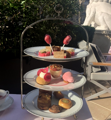 peninsula paris,blog lifestyle,afternoon tea peninsula paris,pink afternoon tea peninsula paris