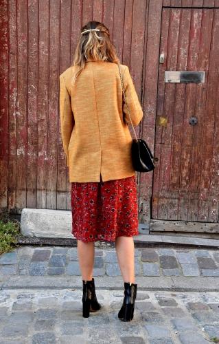 vernis rouge puissant chanel,blog mode,isabel marant,isabel marant étoile,chanel,2.55 chanel,ba&sh,robe galvin ba&sh