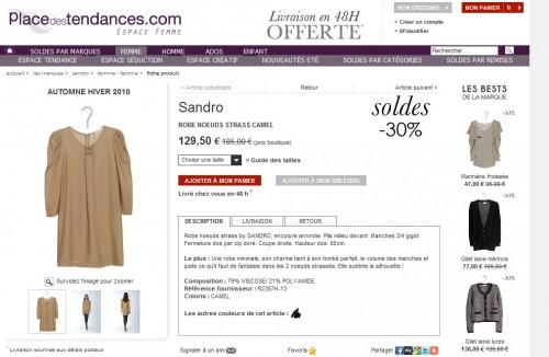 Robe noeud strass Sandro.jpg