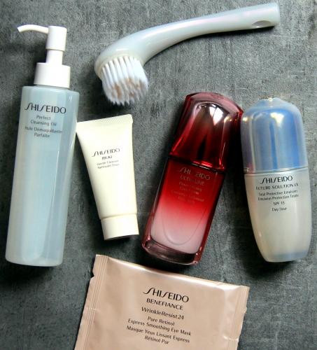 blog beauté,shiseido,routine beauté visage shiseido,youtubeuse,youtubeuse beauté