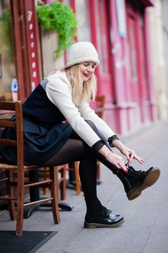 tara jarmon,pyrenex,saint james,blog mode,manteau paul & joe,dr martens