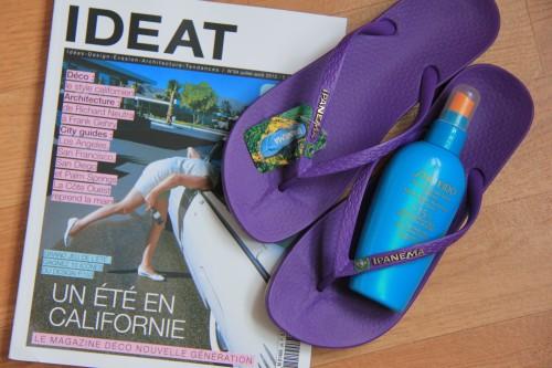 ipanema, ipanema tongs, ipanema shoes, ideat, brésil, voyages, shiseido, jeu de blog, ipanema beach,