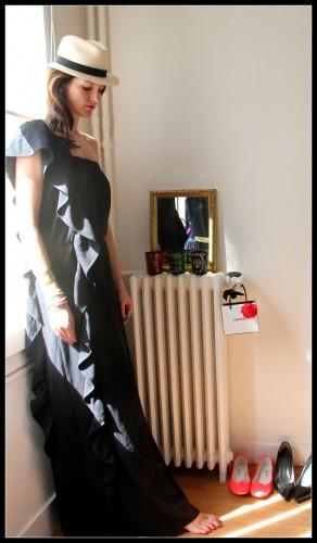 april may,panama,robe longue,blog mode,robe longue april may,robe creamy april may