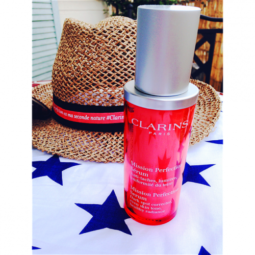 blog beauté,sérum mission perfection clarins,clarins