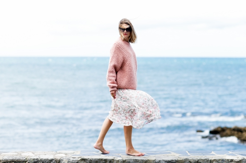 émilie renard,long floral dress,robe longue à fleurs,blog mode,blog voyages