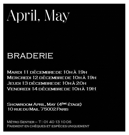 ventes privées,ventes presse,invitations ventes presse,shopping,paris,shopping à paris,bons plans mode,ventes presse hiver 2012