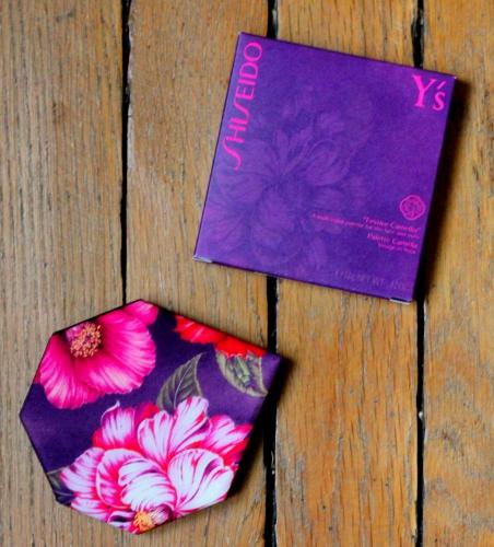 shiseido,palette camélia,festive camellia shiseido