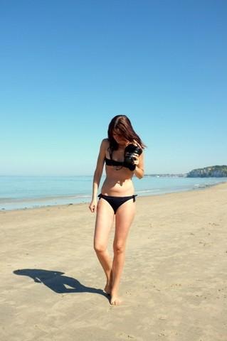 normandie, varengeville sur mer, eres, bikini eres, plage normande, blog mode,