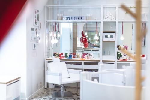 open spa clarins,clarins,blog beauté