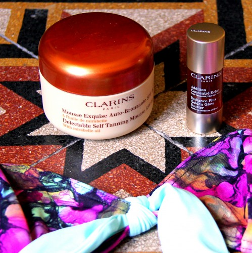 blog beauté,clarins,auto bronzant,auto bronzant clarins,autobronzant,autobronzant clarins,autobronzant addition concentré eclat clarins,auto bronzant addition concentré eclat clarins,mousse exquise auto-bronzante clarins,albertine,bikini albertine,maillot de bain albertine