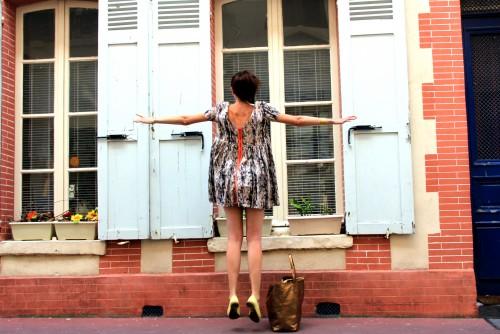 ba&sh,robe augustine ba&sh,augustine ba&sh,blog mode,le temps des cerises,repetto,trouville