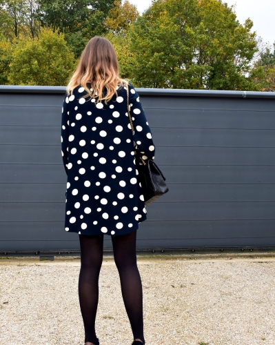 robe pois zara,zara,chanel,blog mode,jimmy choo,apc,movel shoes,2.55 chanel