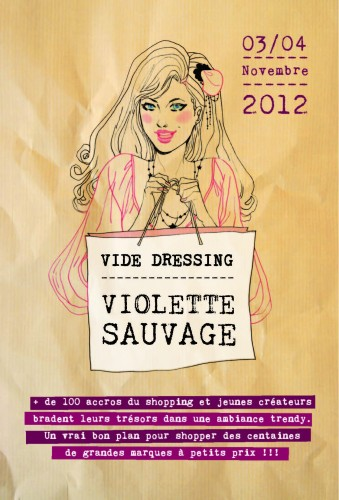 violette sauvage,vide dressing,vide dressing violette sauvage,vide dressing paris,mode,bon plan mode,blog mode