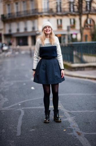tara jarmon,pyrenex,saint james,blog mode,manteau paul & joe,dr martens