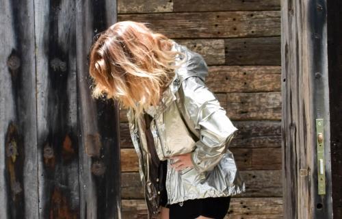 silver jacket,veste métallisée,veste métallisée garcia jeans,soraya,roseanna,flumy lame roseanna