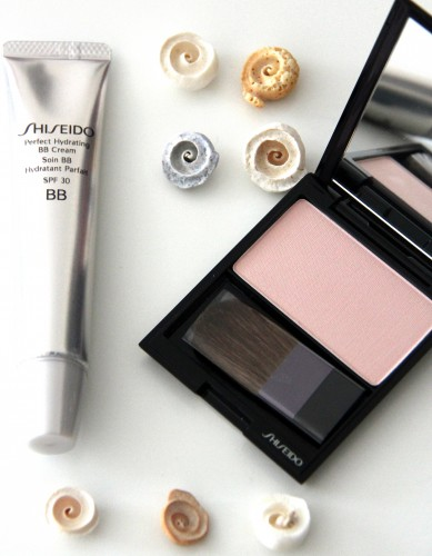 soin bb hydratant parfait shiseido,poudre satin lumineux shiseido,blog beauté,shiseido
