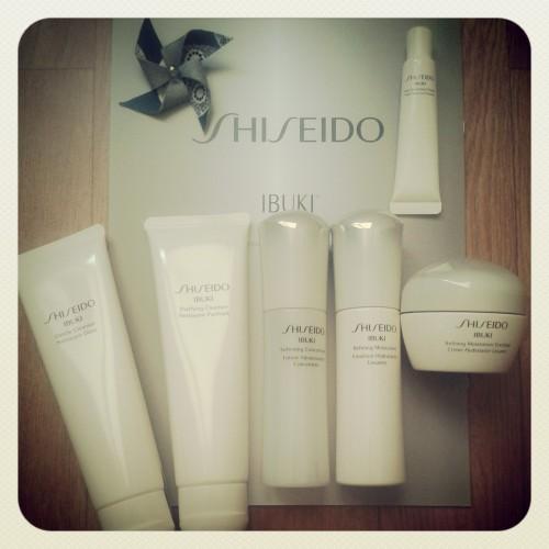 blog beauté,dermalogica,bioderma,shiseido,ibuki,ibuki shiseido,jersey beauty company