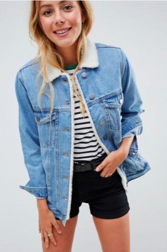 blog mode,paris,vestes en jean,vestes en jean fourrées