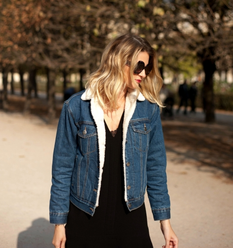fam jeans,veste en jean fourrée,karine arabian,isabel marant,cancel,blog mode,louis vuitton,jimmy fairly