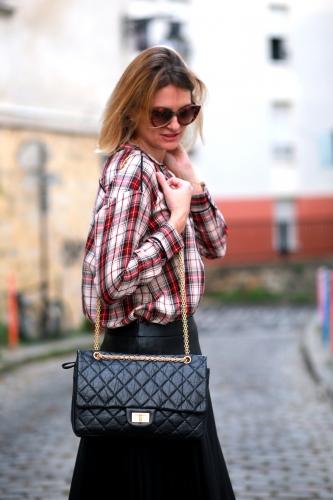 blog mode,stella forest,chemise à carreaux,chemise cléa stella forest