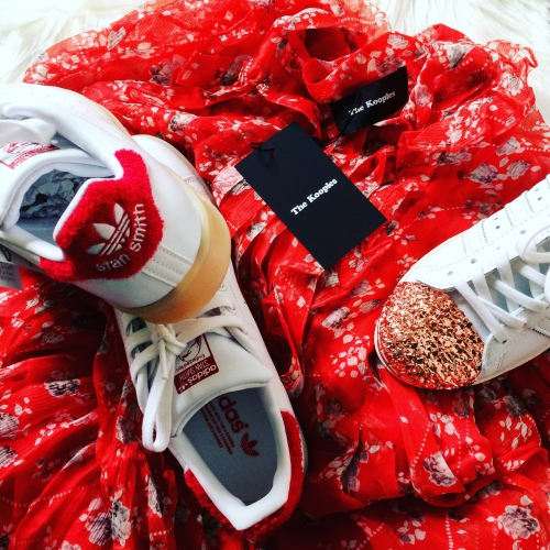 blog mode,robe dots and flowers the kooples,dots and flowers the kooples,isabel marant,acné studios,stan smith adidas