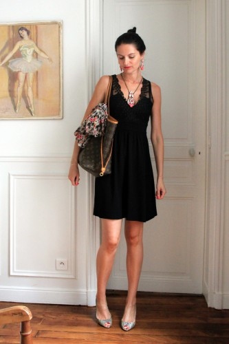 blog mode,sandro,louis vuitton neverfull,louis vuitton,jimmy choo,roseanna,roseanna monoprix,shourouk