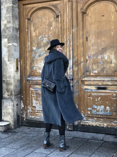 chapeau hermès,blog mode,maison lener,manteau maison lener,manteau cocon maison lener,karine arabian