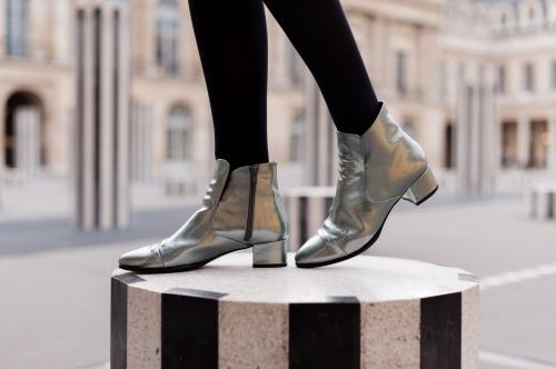 blog mode,karine arabian,comptoir des cotonniers,perfecto comptoir des cotonniers,low boots elvis karine arabian