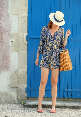 blog mode,antik batik,playsuit,combishort mango antik batik