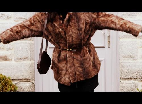 louise hendricks, fourrure, emmaus, shopping, blog mode, isabel marant, april may, céline, sac céline, karine arabian,