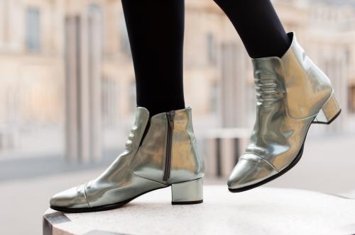 blog mode, karine arabian, comptoir des cotonniers, perfecto comptoir des cotonniers, low boots elvis karine arabian