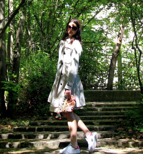 blog mode,kensington burberry,trench kensington burberry,stan smith,stan smith adidas,stan smith pink,adidas,tara jarmon,my lovely socks,ba&sh,yves saint laurent sunglasses
